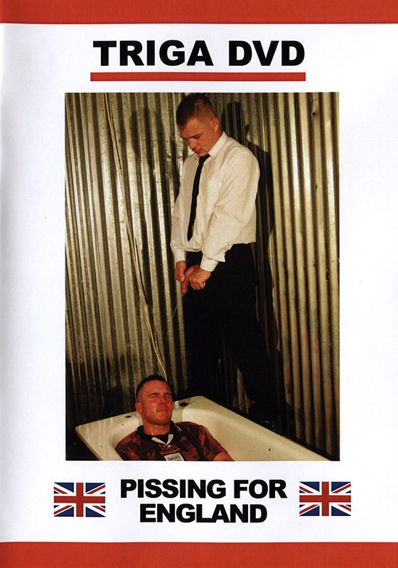 Pissing for England DVD - Front