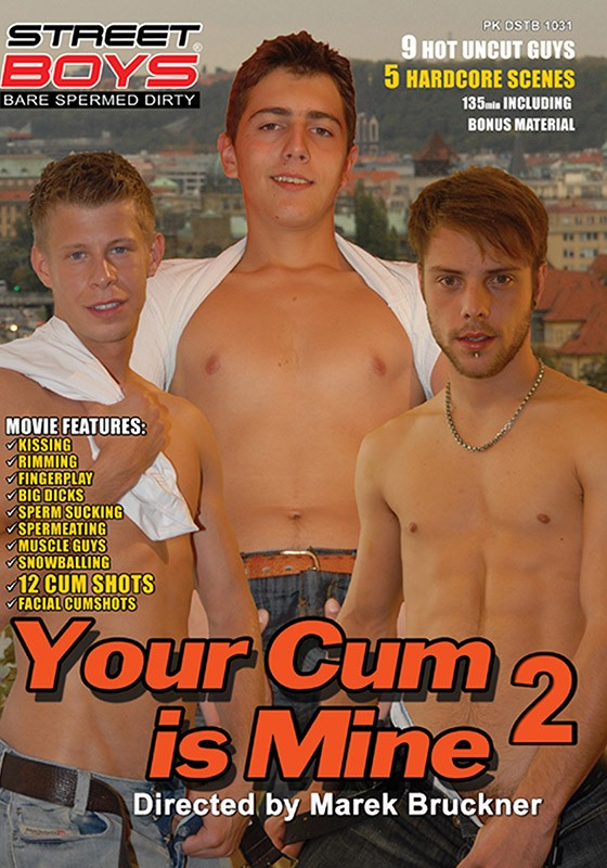 Your Cum Is Mine 2 DVD - Front