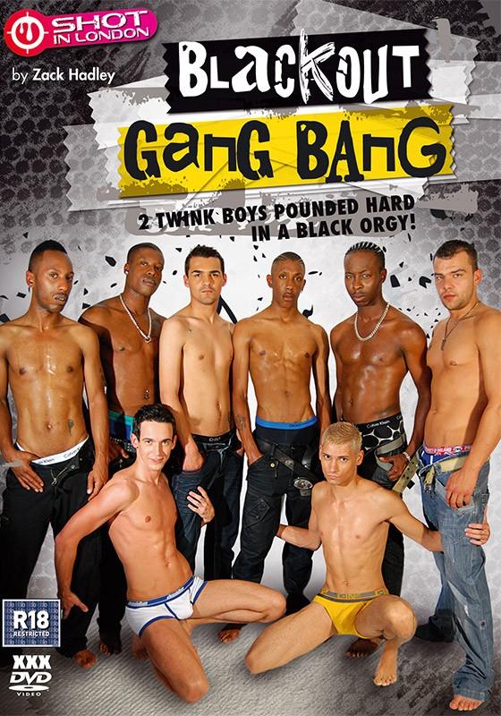 Blackout Gangbang DVD - Front