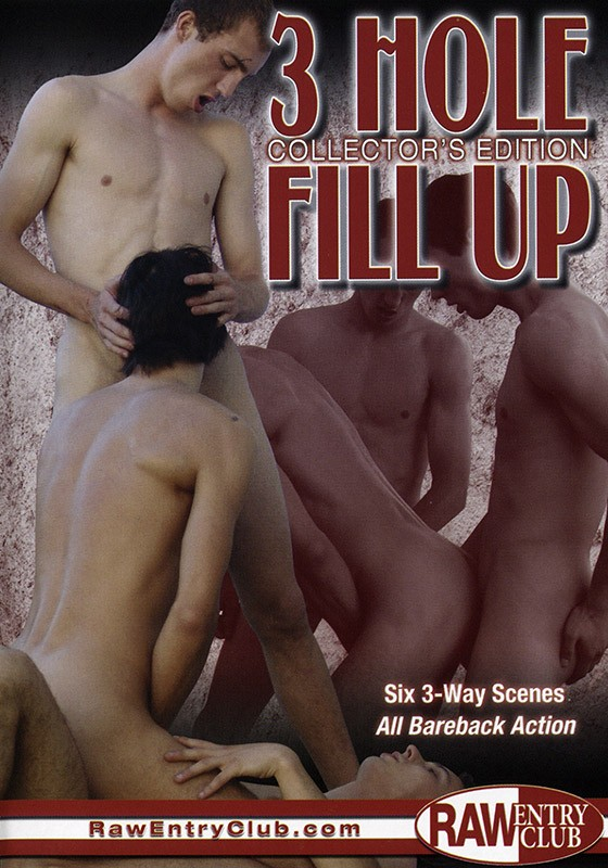 3 Hole Fill Up: Collector's Edition DVD - Front