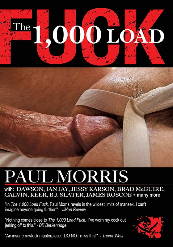 The 1000 Load Fuck DVD - Front