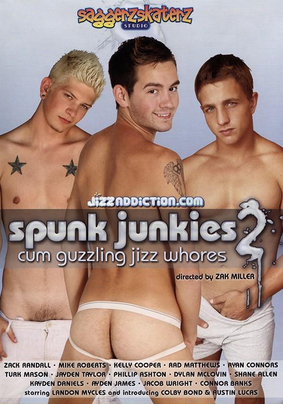 Spunk Junkies 2 DVD - Front