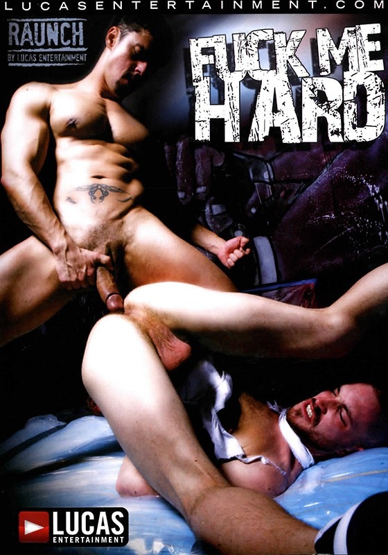 Fuck Me Hard DVD - Front