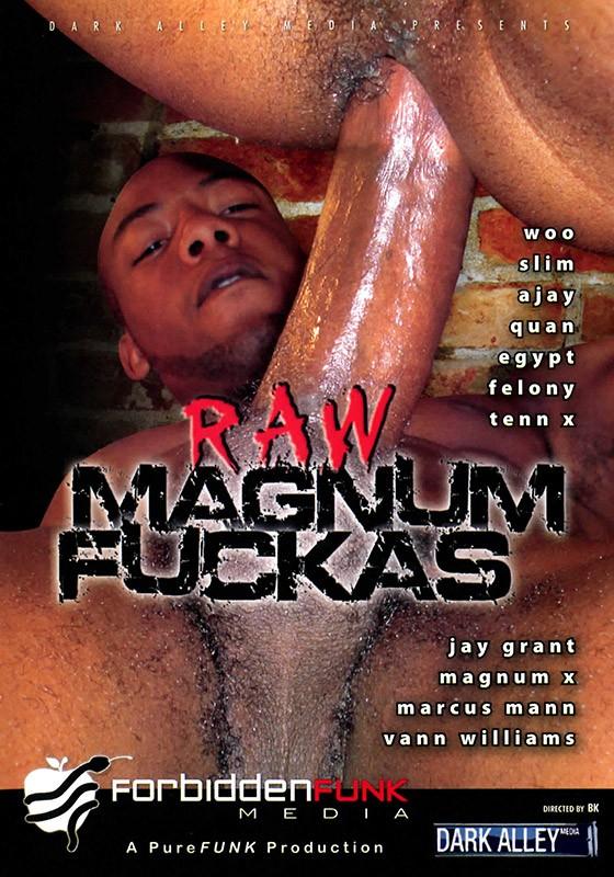 Raw Magnum Fuckas DVD - Front