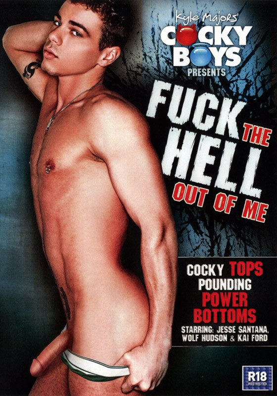 Fuck The Hell Out Of Me DVD - Front