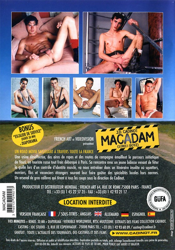 Macadam DVD - Back