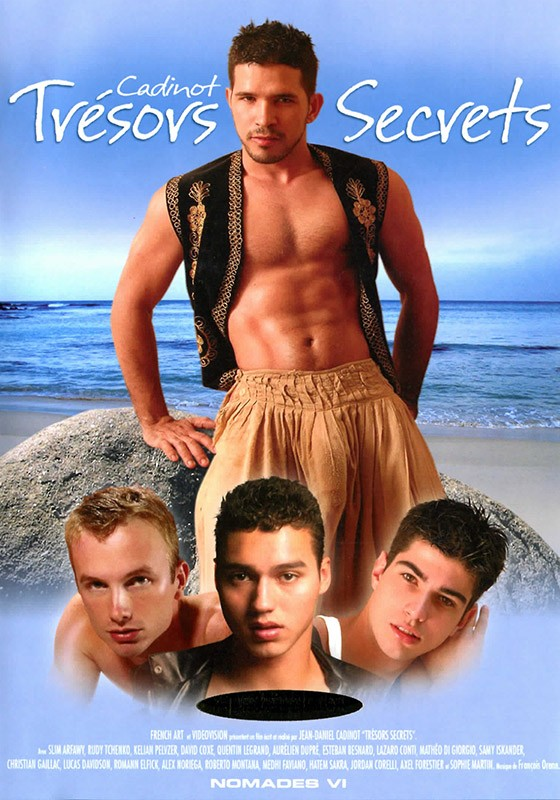 Trésors Secrets DVD - Front