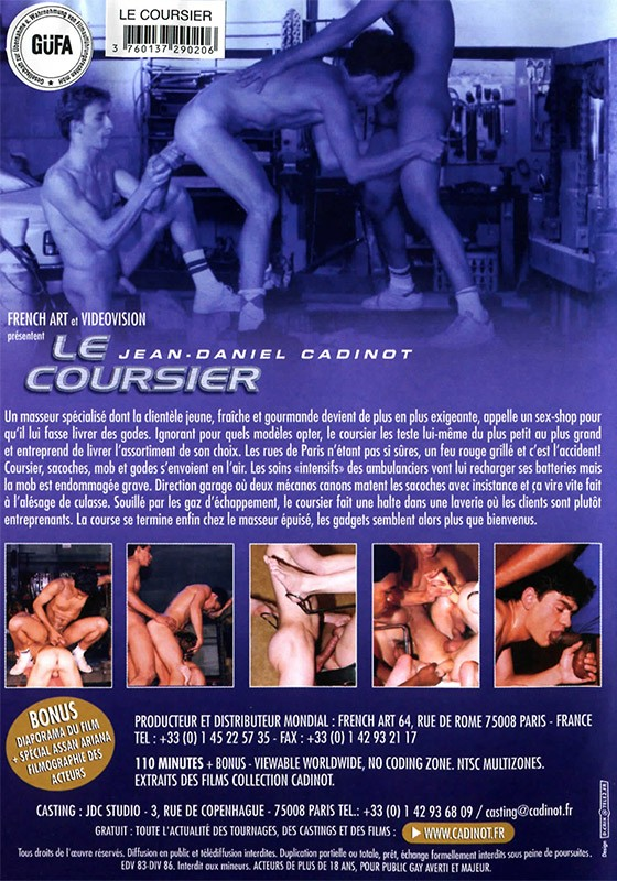 Le Coursier DVD - Back