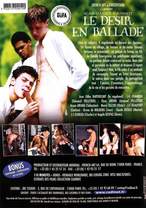 Le Desire En Ballade DVD - Back