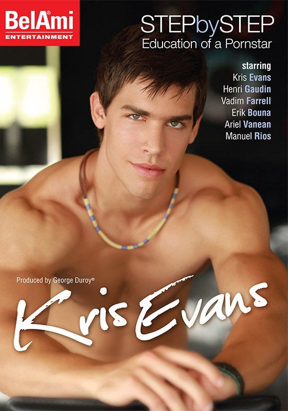 Step by Step: Kris Evans DVD - Front
