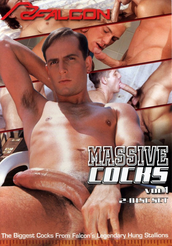 Massive Cocks volume 1 DVD - Front