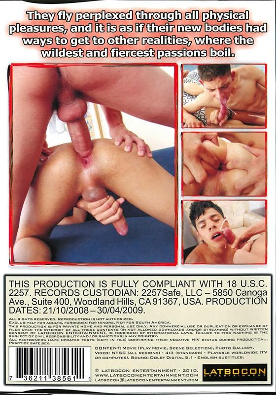 Flesh Lust DVD - Back