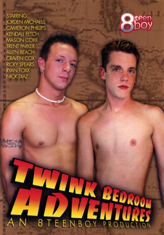 Twink Bedroom Adventures DVD - Front