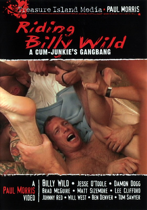 Riding Billy Wild DVD - Front