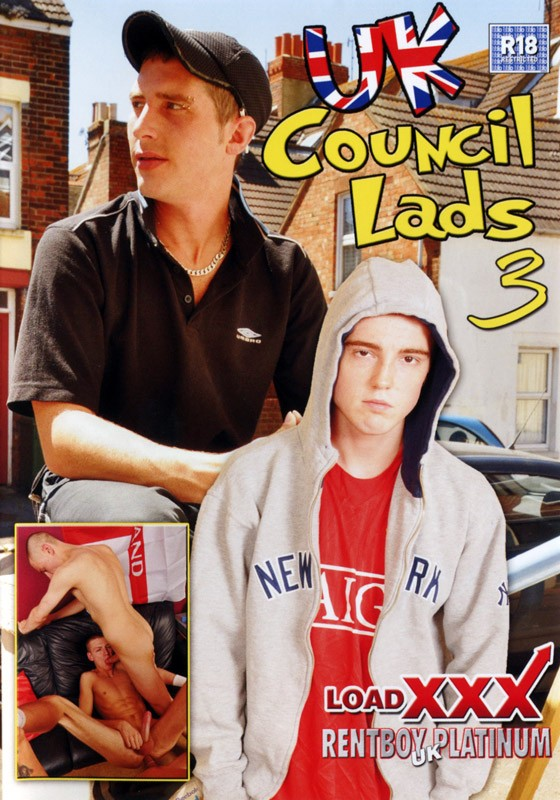 UK Council Lads 3 DVD - Front
