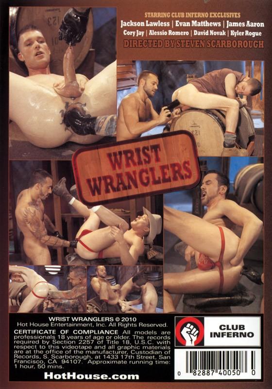 Wrist Wranglers DVD - Back