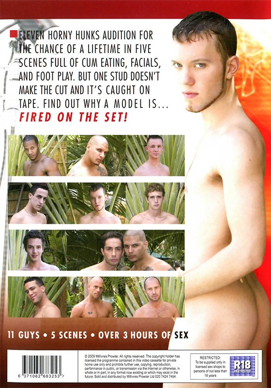 Fired On The Set! DVD - Back