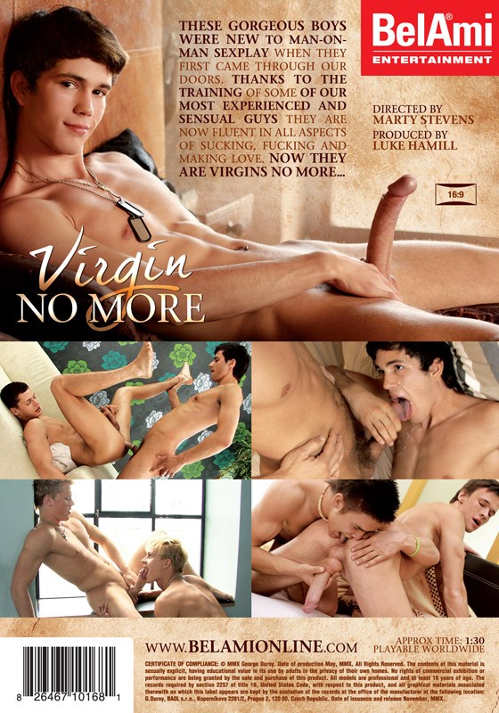 Virgin No More DVD - Back