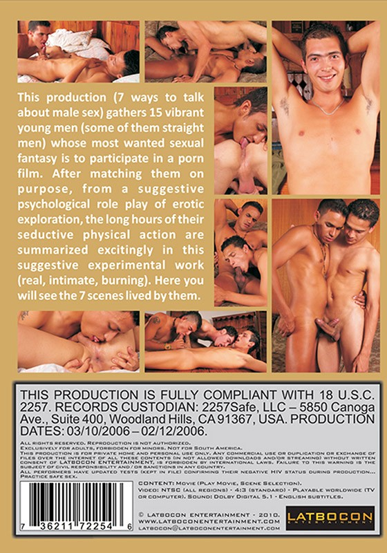 Porn Beginners DVD - Back