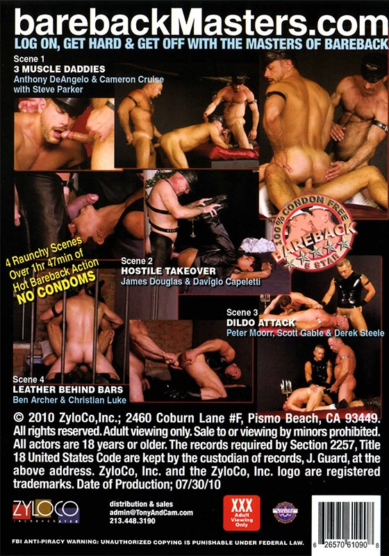 Best of Bareback Leather 2 DVD - Back