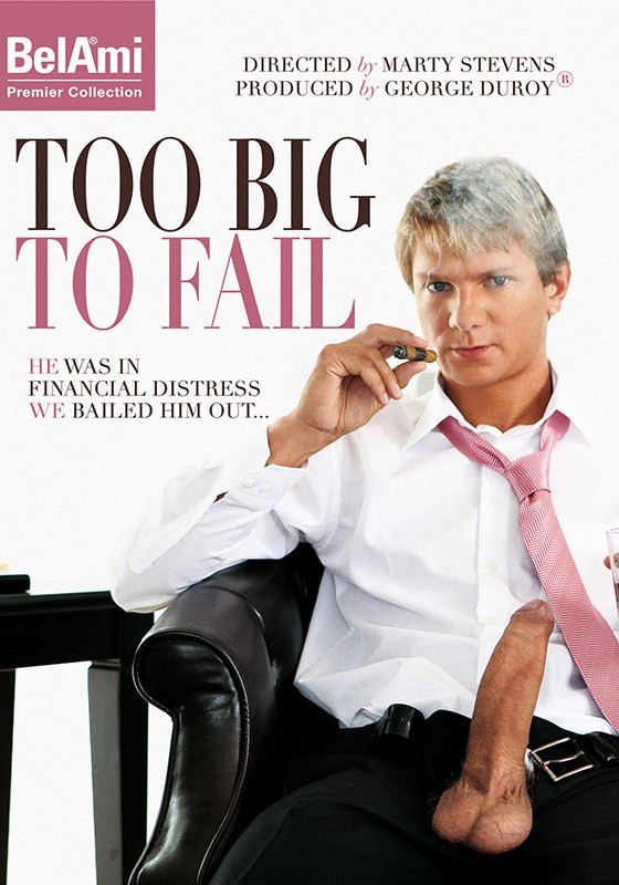 Too Big To Fail DVD - Front