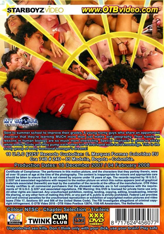 Bareback Summer School Part 2 DVD - Back