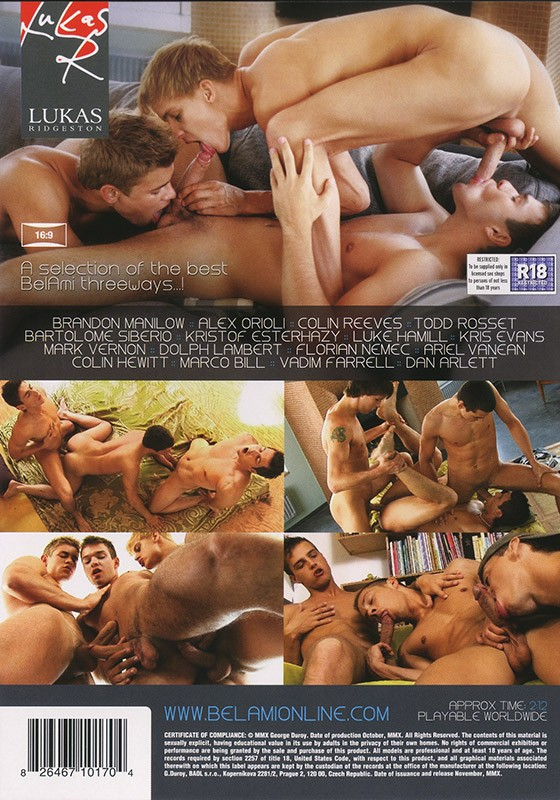 Three DVD - Back
