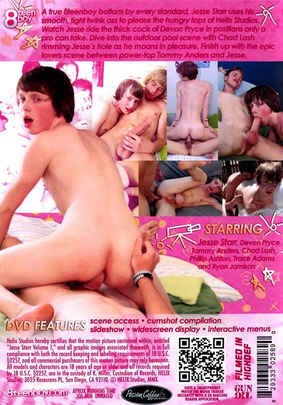 Jesse Starr volume 1 DVD - Back