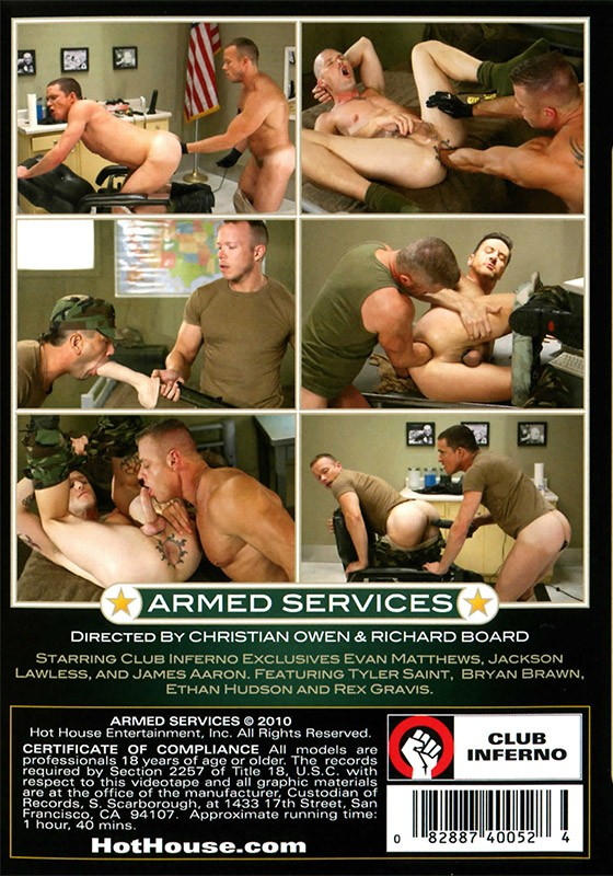 Armed Services DVD - Back