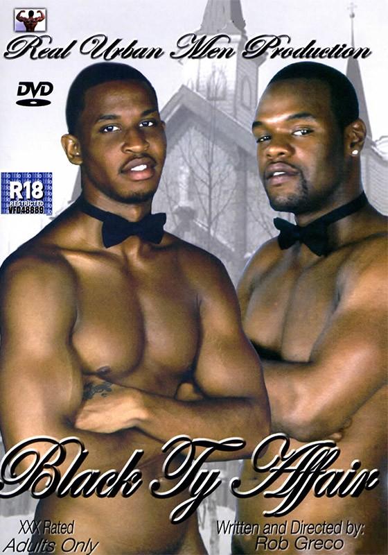 Black Ty Affair DVD - Front