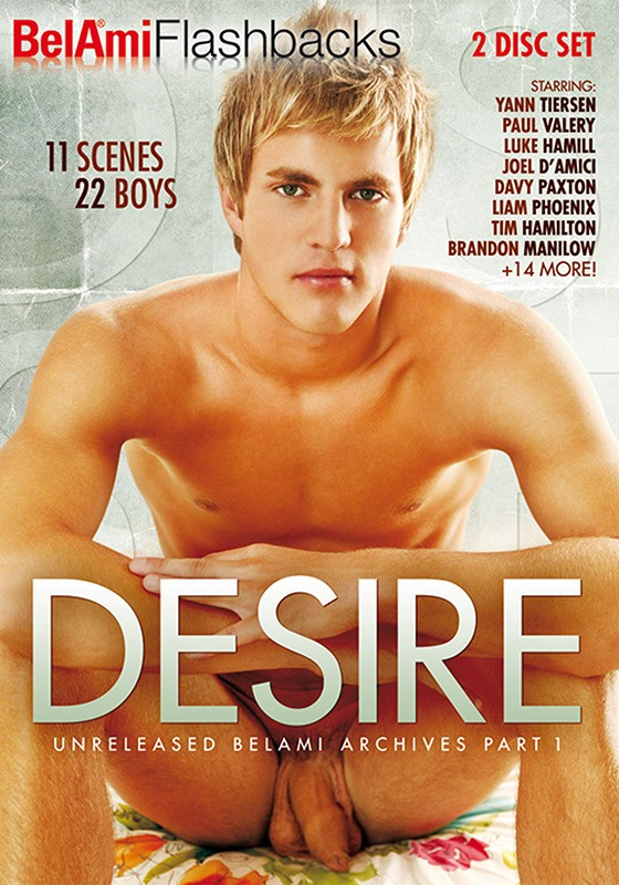 Bel Ami Flashbacks: Desire DVD - Front