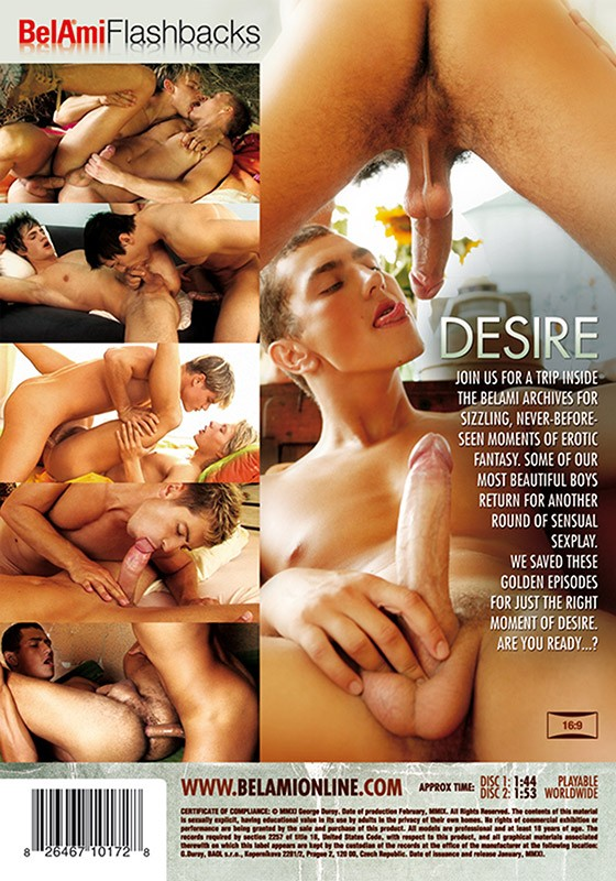 Bel Ami Flashbacks: Desire DVD - Back