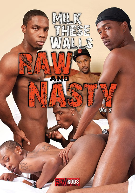 Raw & Nasty 2: Milk These Walls DVD - Front