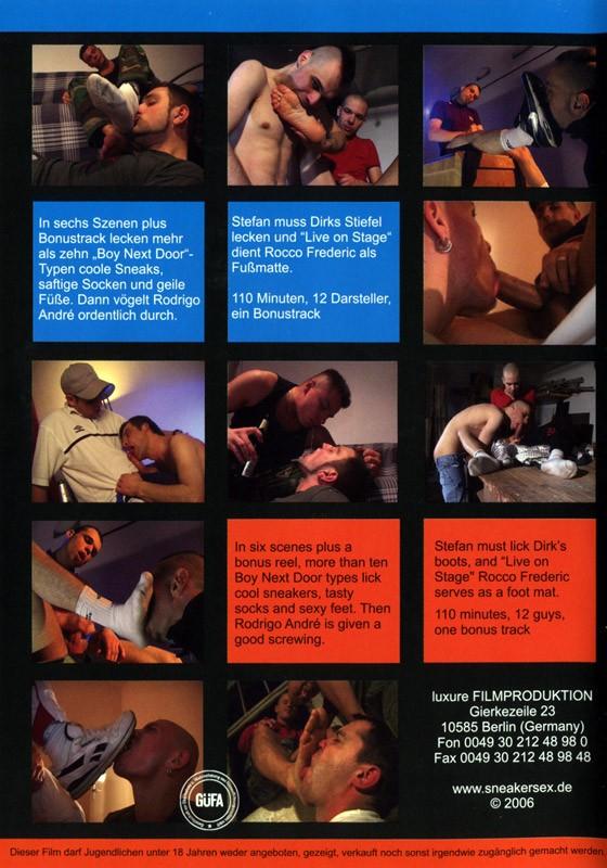 Sneaker Freax III DVD - Back