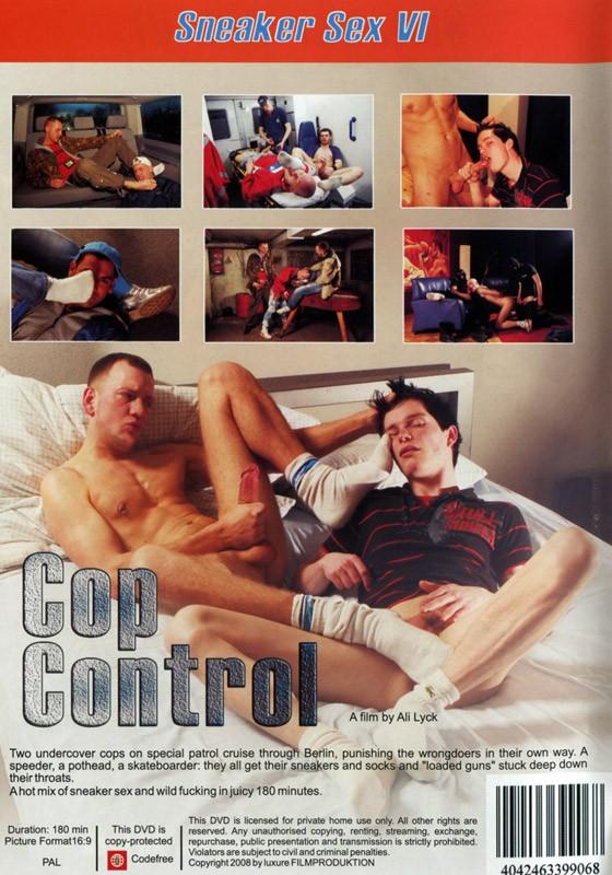 Sneaker Sex VI: Cop Control DVD - Back