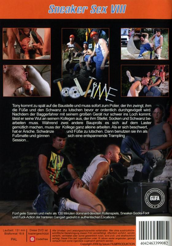 Sneaker Sex VIII: Tooltime DVD - Back