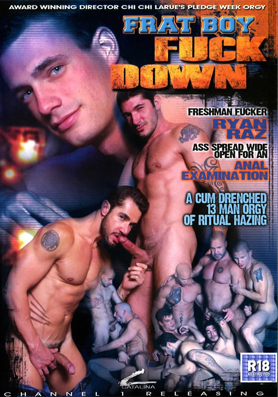Frat Boy Fuck Down DVD - Front
