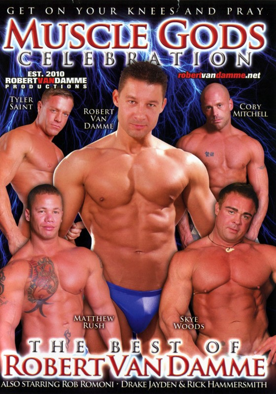 Muscle Gods Celebration DVD - Front
