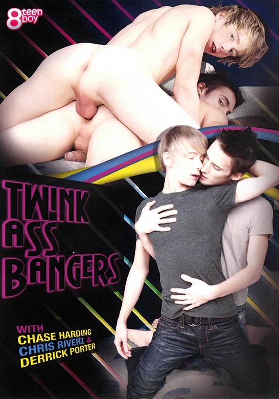 Twink Ass Bangers DVD - Front