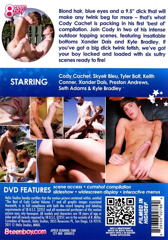 The Best of Cody Cachet volume 1 DVD - Back