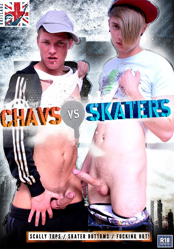 Chavs Vs. Skaters DVD - Front
