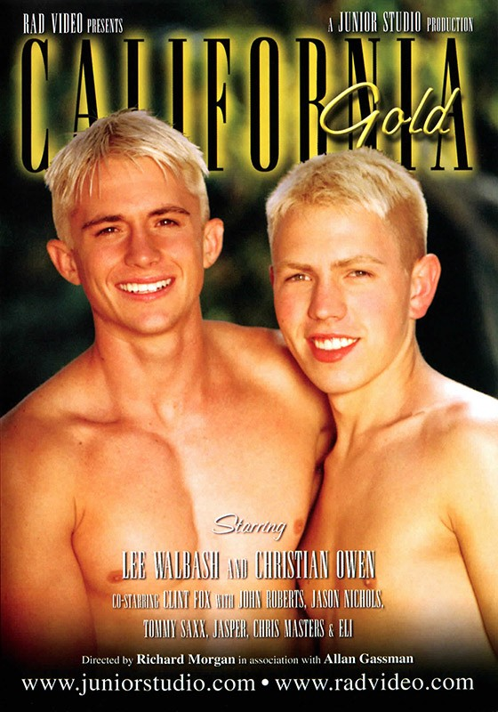 California Gold DVD - Front