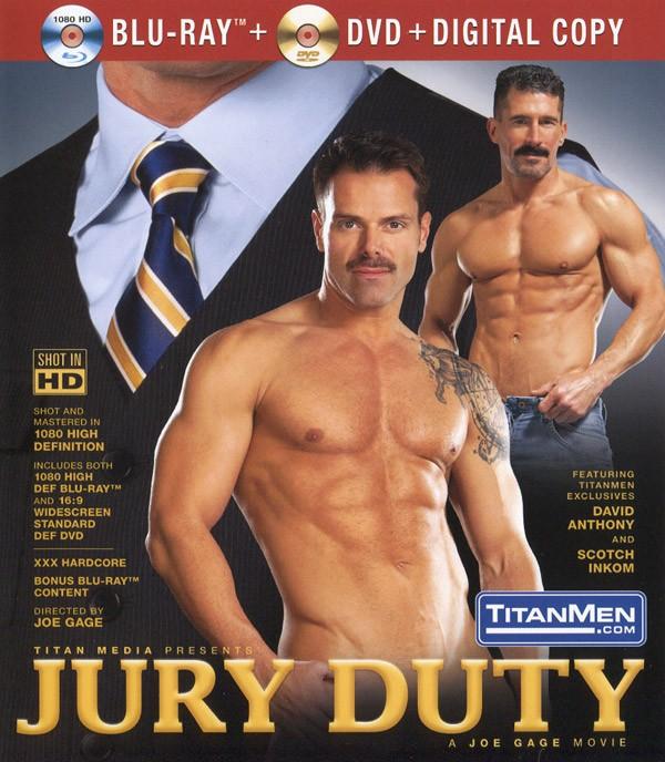 Jury Duty BLU-RAY + DVD - Front