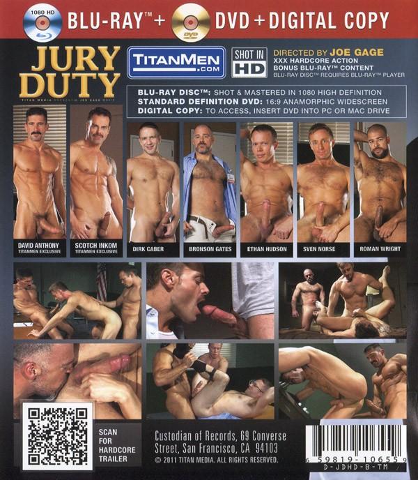 Jury Duty BLU-RAY + DVD - Back