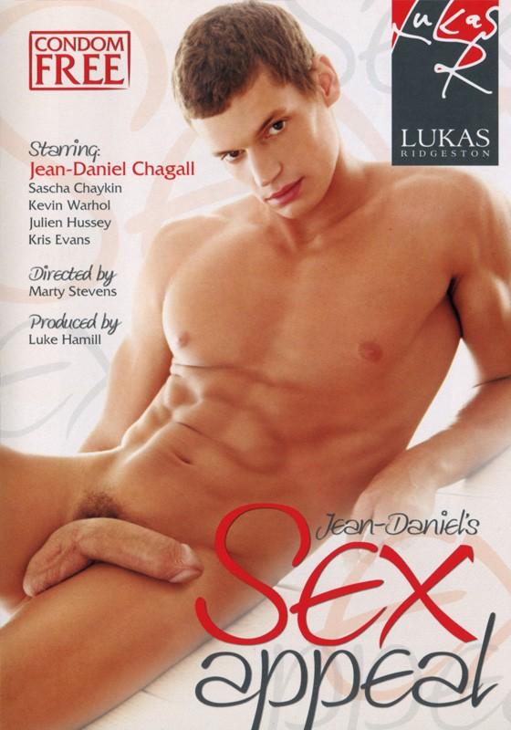 Jean Daniel's Sex Appeal DVD - Front