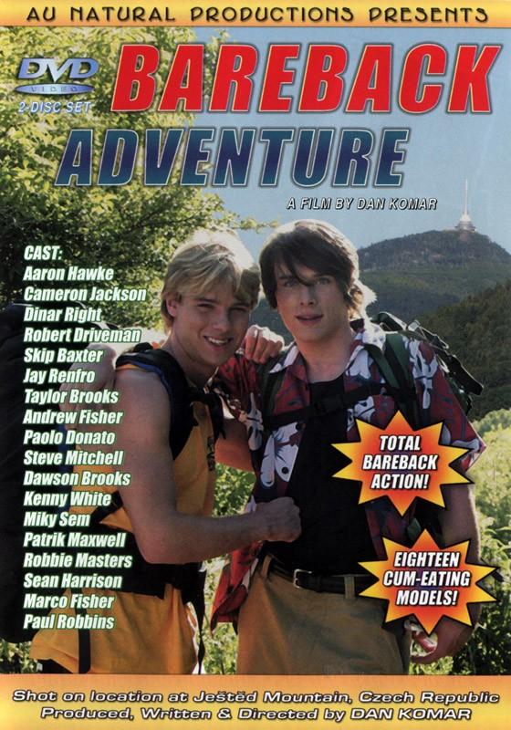 Bareback Adventure DVD - Front