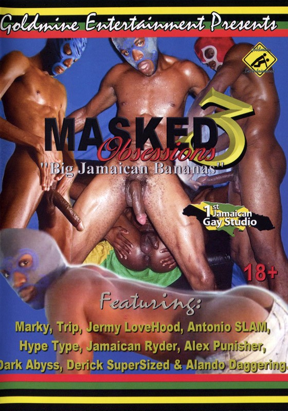 Masked Obsessions 3 DVD - Front
