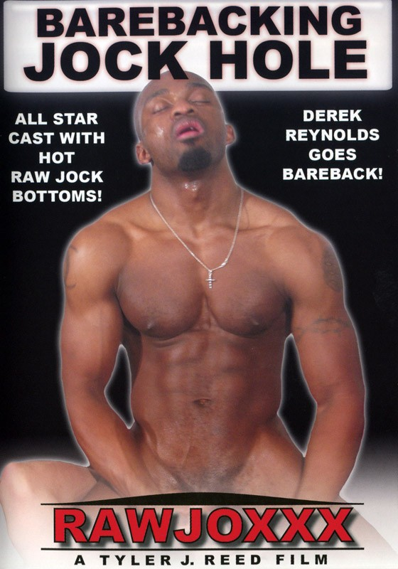 Barebacking Jock Hole DVD - Front