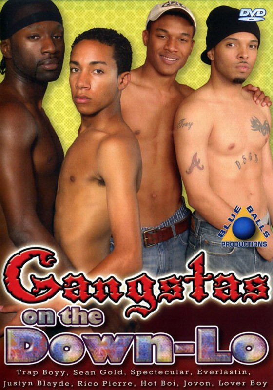 Gangstas On The Down-Lo DVD - Front