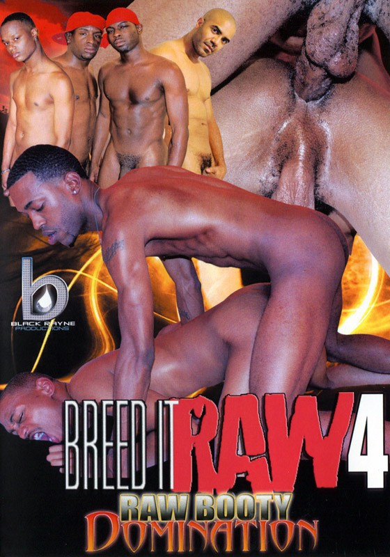 Breed It Raw 4: Raw Booty Domination DVD - Front